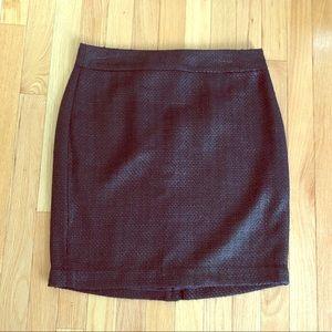 NWOT Banana Republic Black Dress Skirt